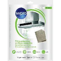 Filtre Pour Hotte WPRO NGF331 Filtre antigraisse universel en fibres naturelles de lin - 330g-m2 - 47 x 57 cm - hyper absorbant et ecologique