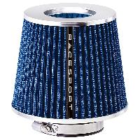 Filtre air universel Filtre A Air Universel avec 4 Bagues Stream Bleu