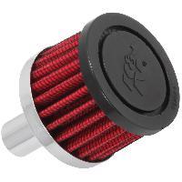 Filtre air universel Filtre air de remplacement - universel - 58 VENT 2p D 1-12p H - base metal - 62-1020 K&N