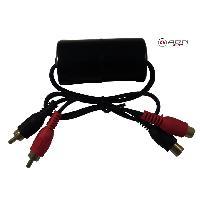 Filtres Audio & DSP Filtre Antiparasite de signal RCA-RCA - ADN-Fi5001