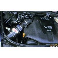 Filtres air - Kits Admission Boite a Air Carbone Dynamique CDA pour Audi A4 8E 2.5 TDI V6 ap 01 Bmc