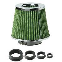 Filtres air - Kits Admission Filtre Air de Remplacement - Universel - 4 Bagues - Vert - ADNAuto