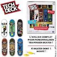 Finger Skate - Finger Bike - Accessoire Finger Skate - Accessoire Finger Bike Tech Deck - Skate Shop Bonus - Pack modele aléatoire - Réf. 6028845 - Spin Master