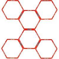 Fitness - Musculation AVENTO Grille d'agilité hexagonale 6 pieces