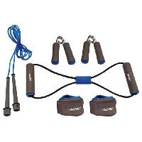 Fitness - Musculation AVENTO Pack fitness 6 pieces - Bleu