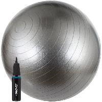 Fitness - Musculation AVENTO Swiss ball Avec Pompe - M - 65 cm - Gris