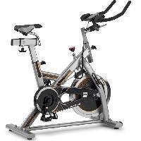 Fitness - Musculation BH FITNESS Velo Biking spinning MKT JET BIKE - volant d'inertie 18 kg. Transmission courroie Poly-V