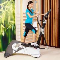 Fitness - Musculation BH Vélo Elliptique Brazil dual - Longue foulée - 12 profils prédéfinis - 24 niveaux d'intensité Bh Fitness