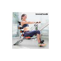 Fitness - Musculation INNOVAGOODS Banc de musculation 6 x Intégral - Avec guide d'exercices