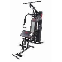 Fitness - Musculation O'FITNESS Presse de Musculation avec Pupitre et 76kg poids inclus - Ofitness