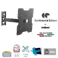 Fixation - Support Tv - Support Mural Pour Tv CONTINENTAL EDISON Support TV orientable TV 22-40'' VESA 200200