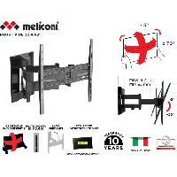Fixation - Support Tv - Support Mural Pour Tv MELICONI 480866 Support mural TV pantographe Slim 400 SDRP PLUS pour TV de 32'' a 80'' -81-203 cm- + cable