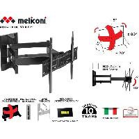 Fixation - Support Tv - Support Mural Pour Tv MELICONI 480867 Support mural TV pantographe Slim600 SDRP PLUS pour TV de 50'' a 82'' -127-208 cm- + cabl