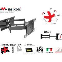Fixation - Support Tv - Support Mural Pour Tv MELICONI 480870 Support mural TV Special OLED SDRP TV OLED inclinable et orientable grand angle pour TV