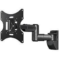 Fixation - Support Tv - Support Mural Pour Tv Support allonge pour tele ecran plat - noir - charge jusqu a 30kg - ADNAuto