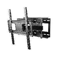 Fixation - Support Tv - Support Mural Pour Tv Support pour tele ecran plat - noir - charge jusqu a 40kg