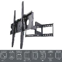 Fixation - Support Tv - Video - Son INOTEK PRO M1 3265 Support TV mural - Pour TV 32 a 65 -81 a 165 cm- - Inclinable et Orientable - Noir