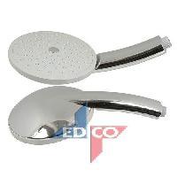 Flexible De Douche - Support De Douchette - Pommeau De Douche BATH et SHOWER Tete de douche massage - 15 cm - Edco