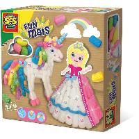 Flocon De Mais - Assemblage SES CREATIVE Funmais princesse et licorne - 400 pieces