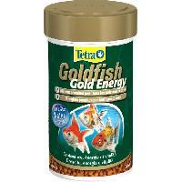 Flocons - Mash - Muesli TETRA Aliment complet Goldfish Gold Energy en granulé - Pour poissons rouges - 100ml
