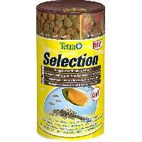 Flocons - Mash - Muesli TETRA Aliment complet Sélection - Pour poissons tropicaux - 250ml
