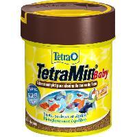 Flocons - Mash - Muesli TETRA Aliment complet TetraMin Baby - Pour poissons tropicaux - 66ml