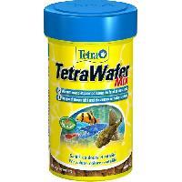 Flocons - Mash - Muesli TETRA Aliment complet Wafer Mix - Pour poissons de fond et crustacés - 100ml
