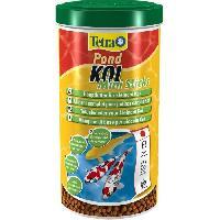 Flocons - Mash - Muesli TETRA Pond KOI Mini Sticks 1l pour poisson de bassin