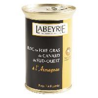 Foie Gras Bloc Foie Gras de Canard du Sud Ouest a l'Armagnac 290g