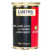 Foie Gras Bloc de Foie Gras de Canard du Sud-Ouest Boite double tear-up 290g