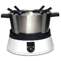 Fondue Electrique CASO 2280 Appareil a fondue a induction - Blanc