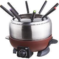 Fondue Electrique CONTINENTAL EDISON FD6WIX Appareil a fondue - Marron
