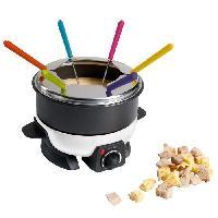Fondue Electrique LIVOO  DOC106 Appareil a fondue - Blanc et Noir - Domoclip
