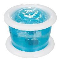 Fontaine A Eau TRIXIE Distributeur automatique d'eau Bubble Stream 3l - Bleu et blanc - Pour chien
