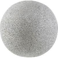 Fontaine De Jardin ESTERAS Fontaine  Deco Ball 50 Granite Grey  - Fibre de verre - Generique