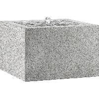 Fontaine De Jardin ESTERAS Fontaine Toa 57 Granite Grey - Fibre de verre