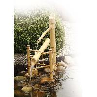 Fontaine De Jardin UBBINK Bambou basculant pour bassin