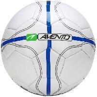 Football AVENTO Ballon de football - Blanc. bleu et gris