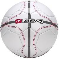 Football AVENTO Ballon de football - Blanc. gris et rouge