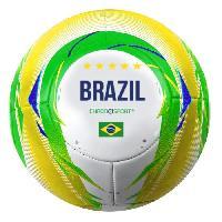 Football CHRONOSPORT Ballon de football Brésil - Taille 5