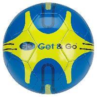 Football GET & GO Ballon de football - Bleu Getgo