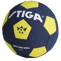 Football STIGA Ballon de football Coupe du monde 2018 - Bleu et jaune - Taille 5