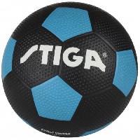 Football STIGA Ballon de football street soccer - Noir et bleu - Taille 5