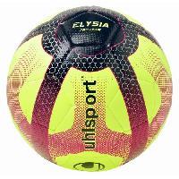Football UHLSPORT Ballon de Football Elysia Pro Ligue - Jaune. bleu et rouge - Taille 5