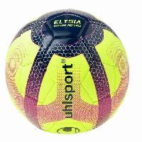 Football UHLSPORT Ballon de Football Elysia Replica - Jaune. bleu et rouge - Taille 5