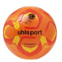 Football UHLSPORT Ballon de football Triomphéo Club Traning - Orange et rouge - Taille 4