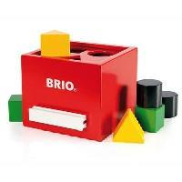 Forme A Trier - Forme A Agencer - Boite A Forme - Pyramide-gigogne Boite a formes - Rouge