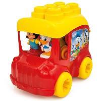 Forme A Trier - Forme A Agencer - Boite A Forme - Pyramide-gigogne CLEMENTONI Clemmy - Le Bus de Mickey - Cubes souples
