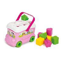 Forme A Trier Et A Agencer - Boite A Forme - Pyramide-gigogne CLEMENTONI Disney Baby - Le bus des formes de Minnie - Jeu d'eveil