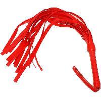 Fouetter Fouet rouge en PVC 45 cm